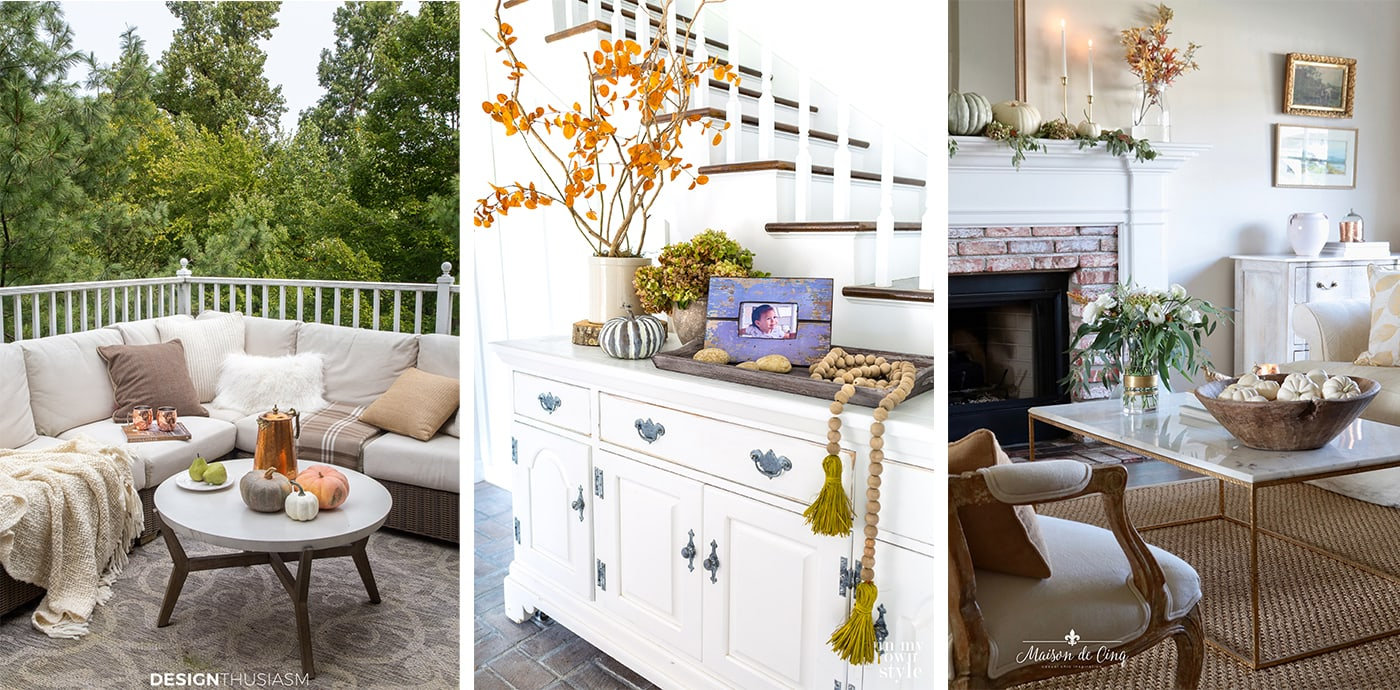 Fall decorating blog hop