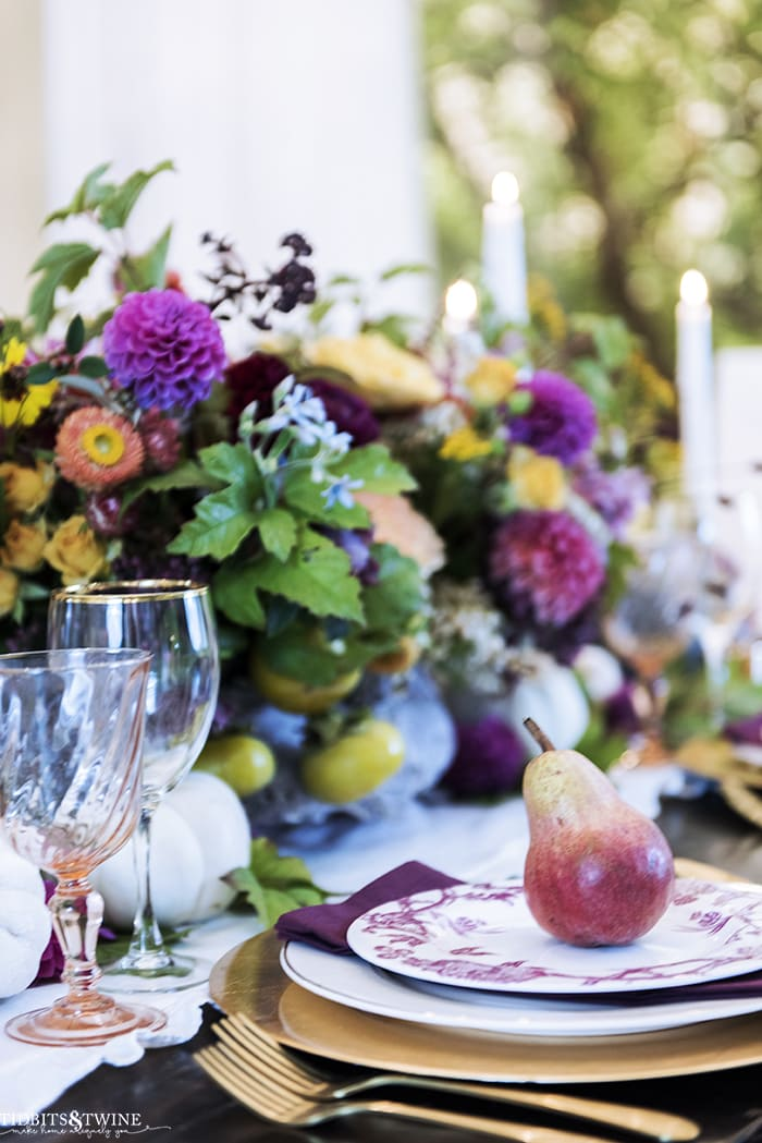 How to Create a Fabulous Fall French Tablescape