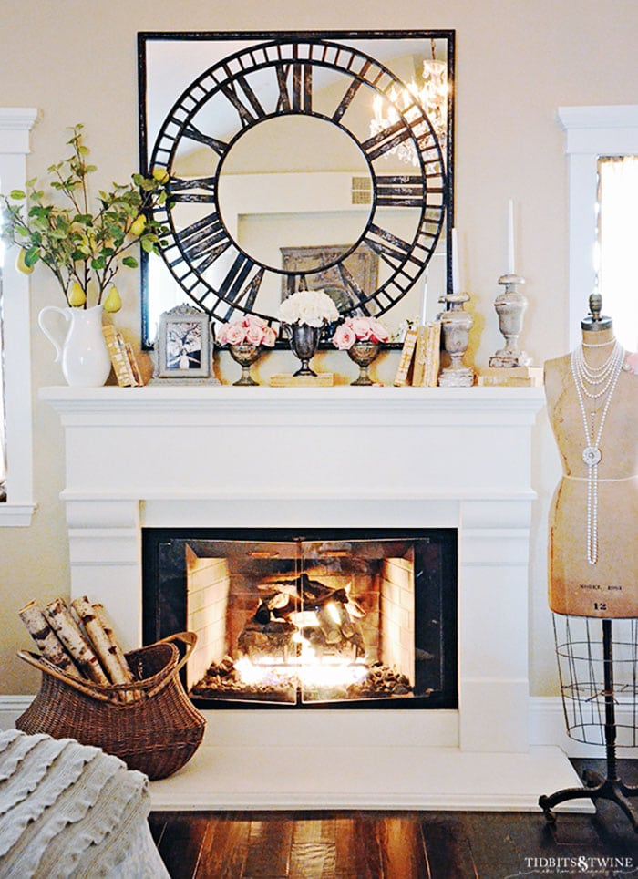 How to Decorate the Perfect French Mantel