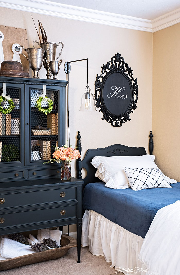 Ideas for French Country Charm in the Guest Room