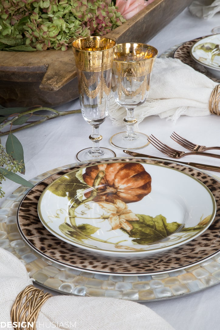 Thanksgiving decor ideas from Designthusiasm