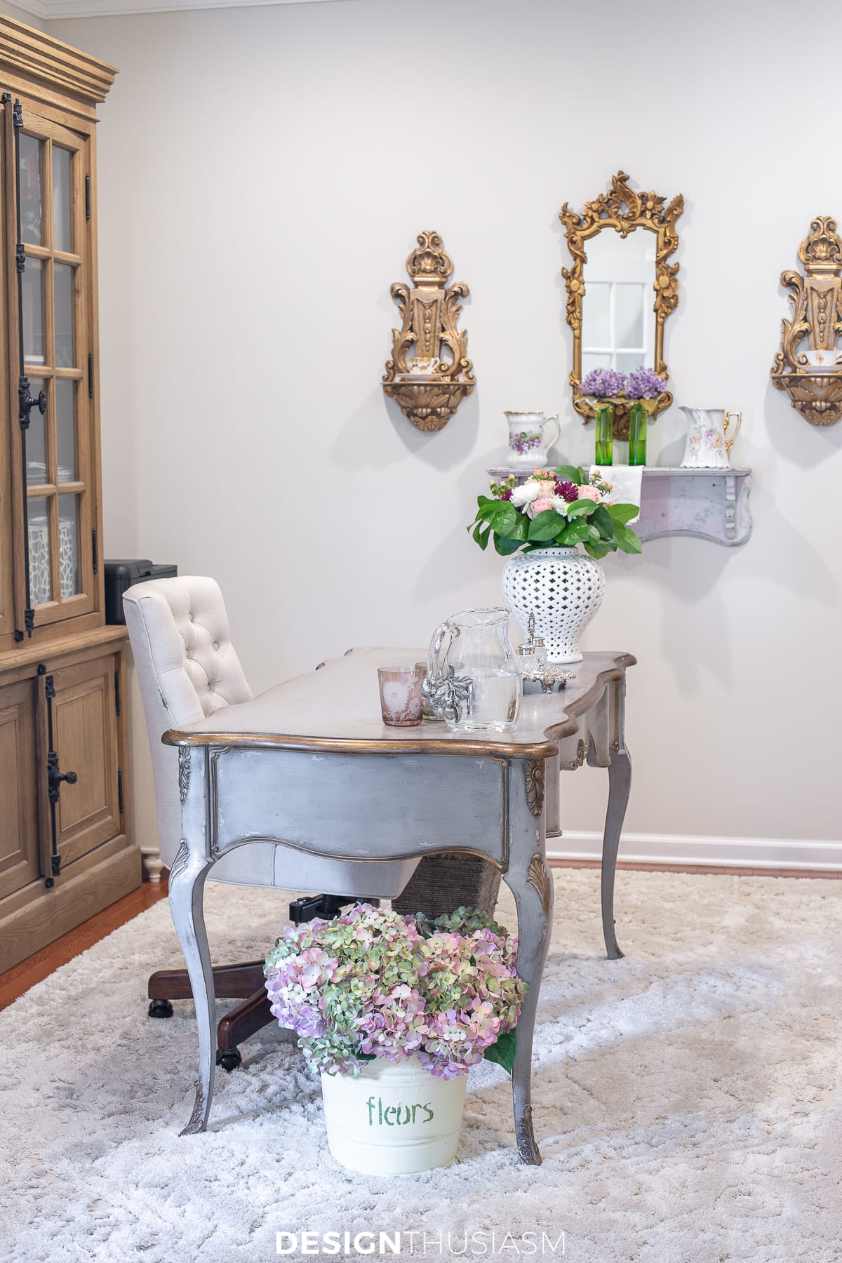 french-inspired home office