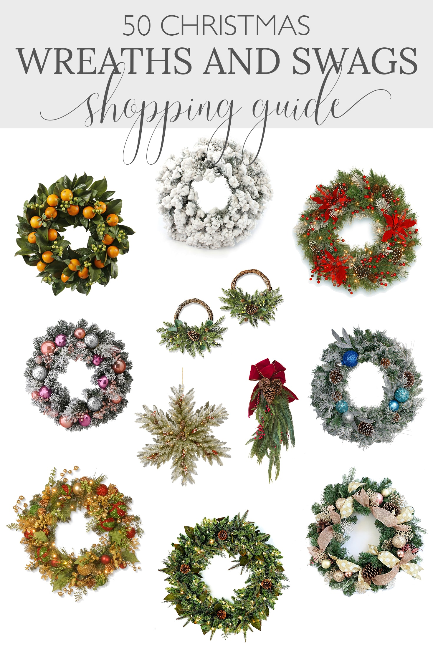 Holiday Wreaths and Swags