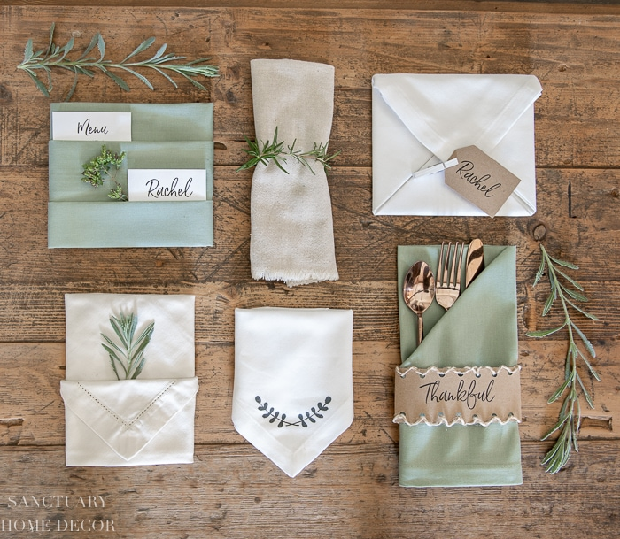 6_Ways_To_Fold_A_Napkin