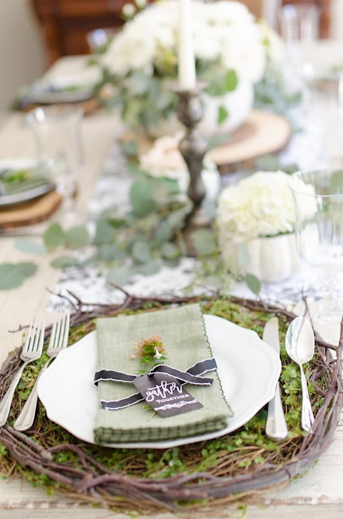 Home Stories Thanksgiving Place Setting Ideas