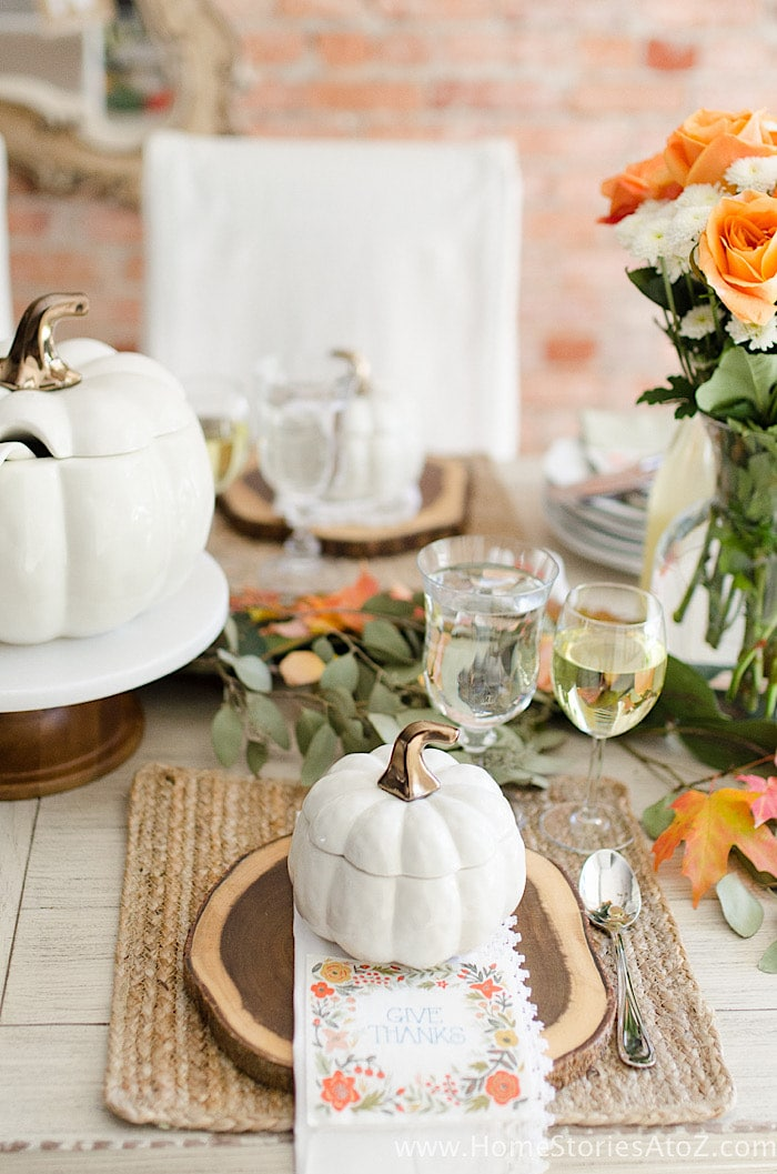 A to Z Tablescape