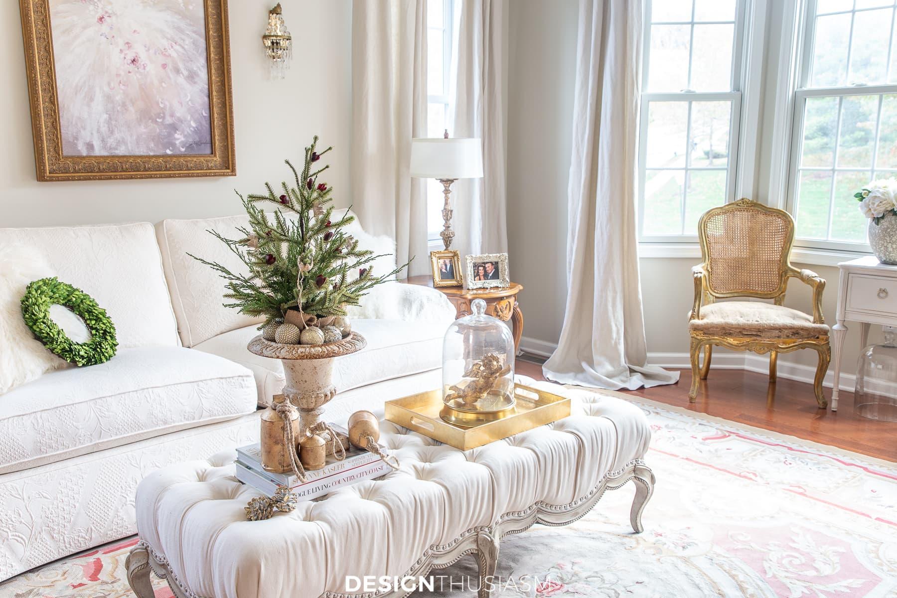 mini christmas tree holiday decor
