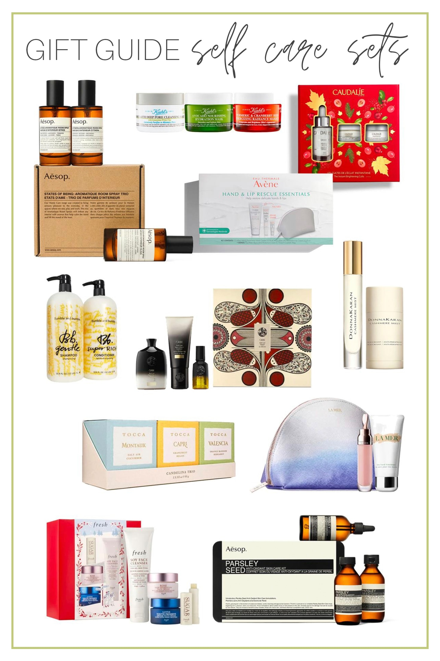 Gift Guide self care sets