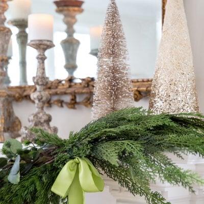 Christmas Mantel Decor: Adding Holiday Cheer with a Mantel Garland