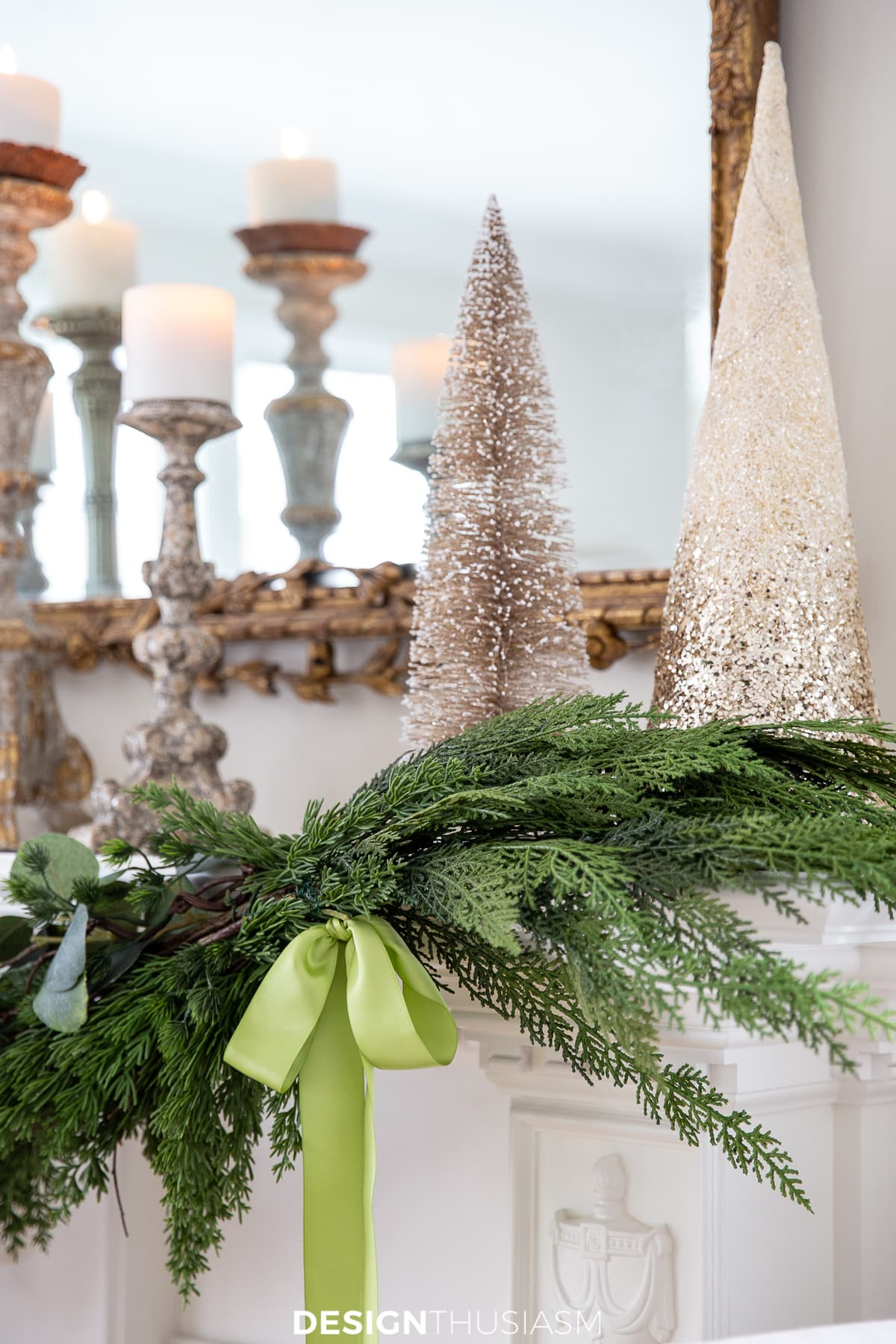 Christmas Mantel Decor Adding Holiday Cheer With A Mantel Garland