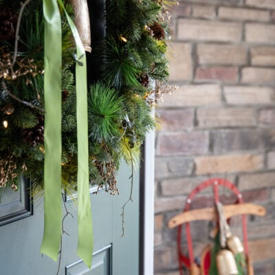 Christmas Porch Ideas and Front Door Christmas Decorations