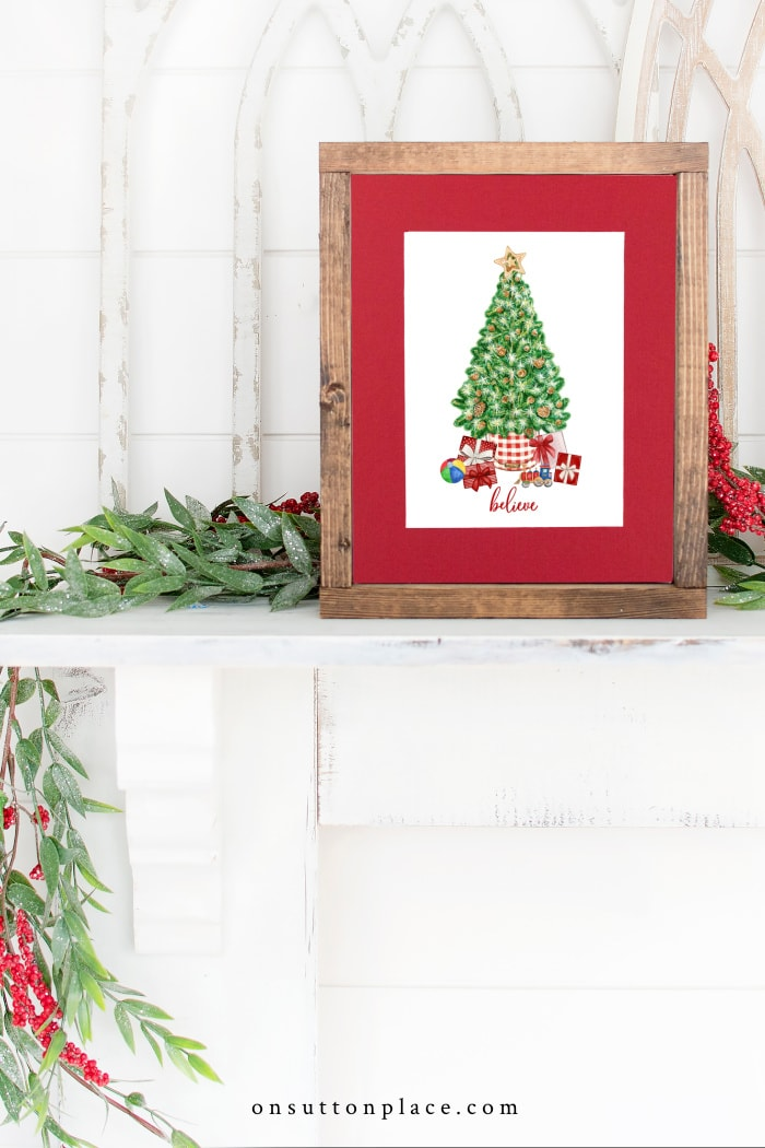 Free Christmas Printables from On Sutton Place