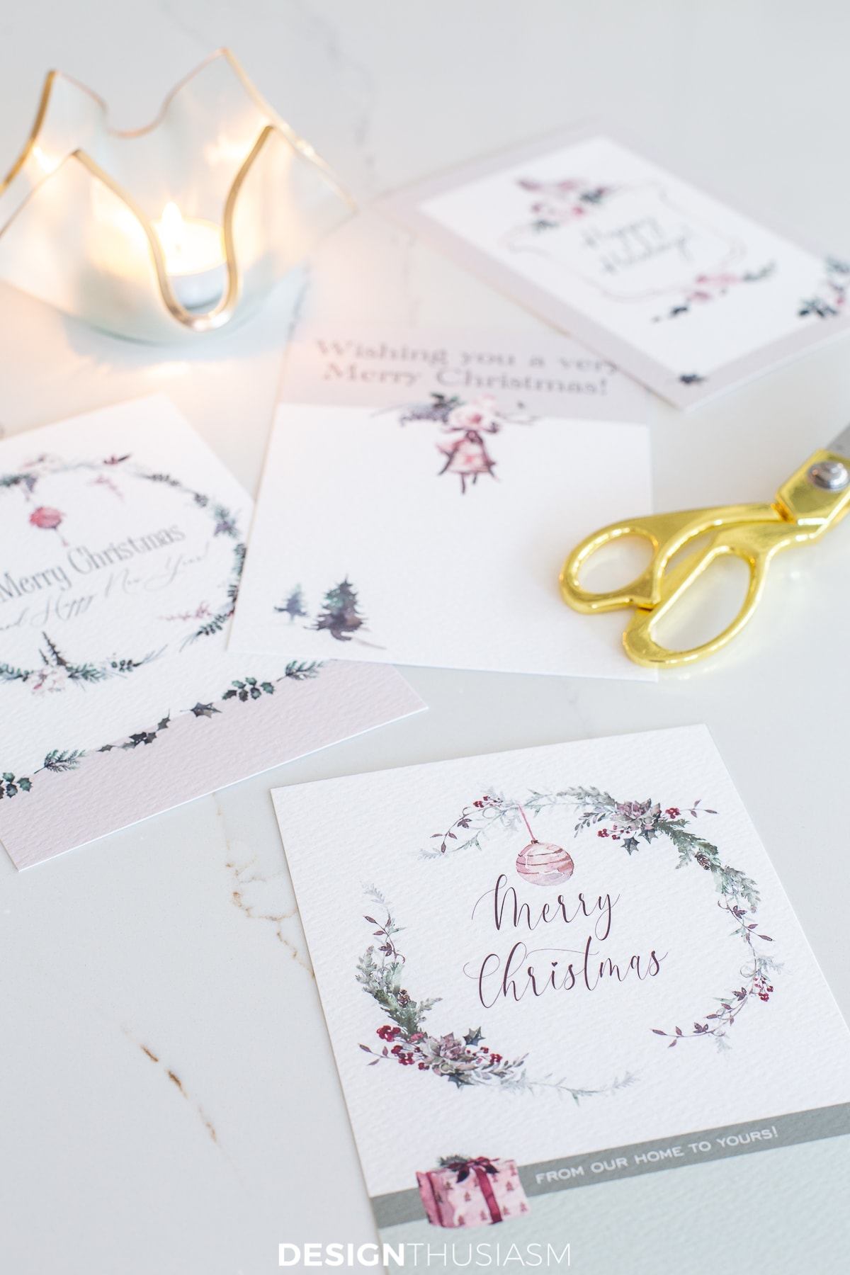 printable Christmas cards cut out