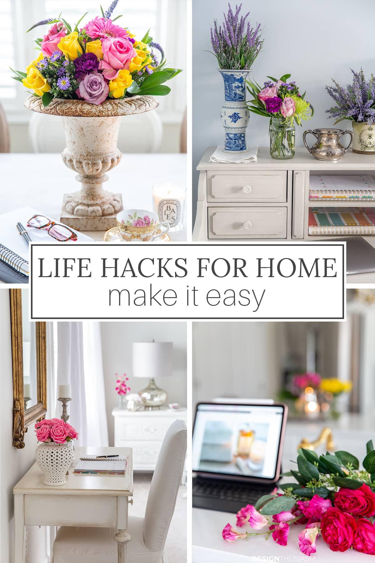 Life Hacks para casa