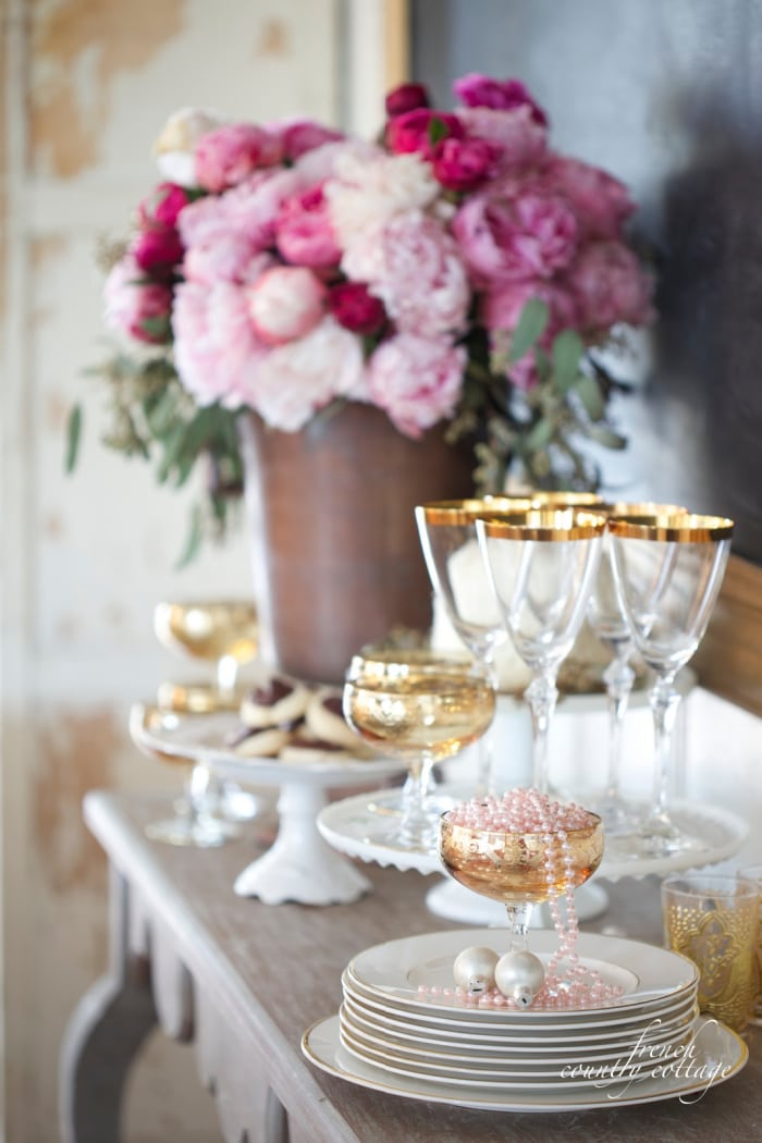 Simple NYE Ideas French Country Cottage
