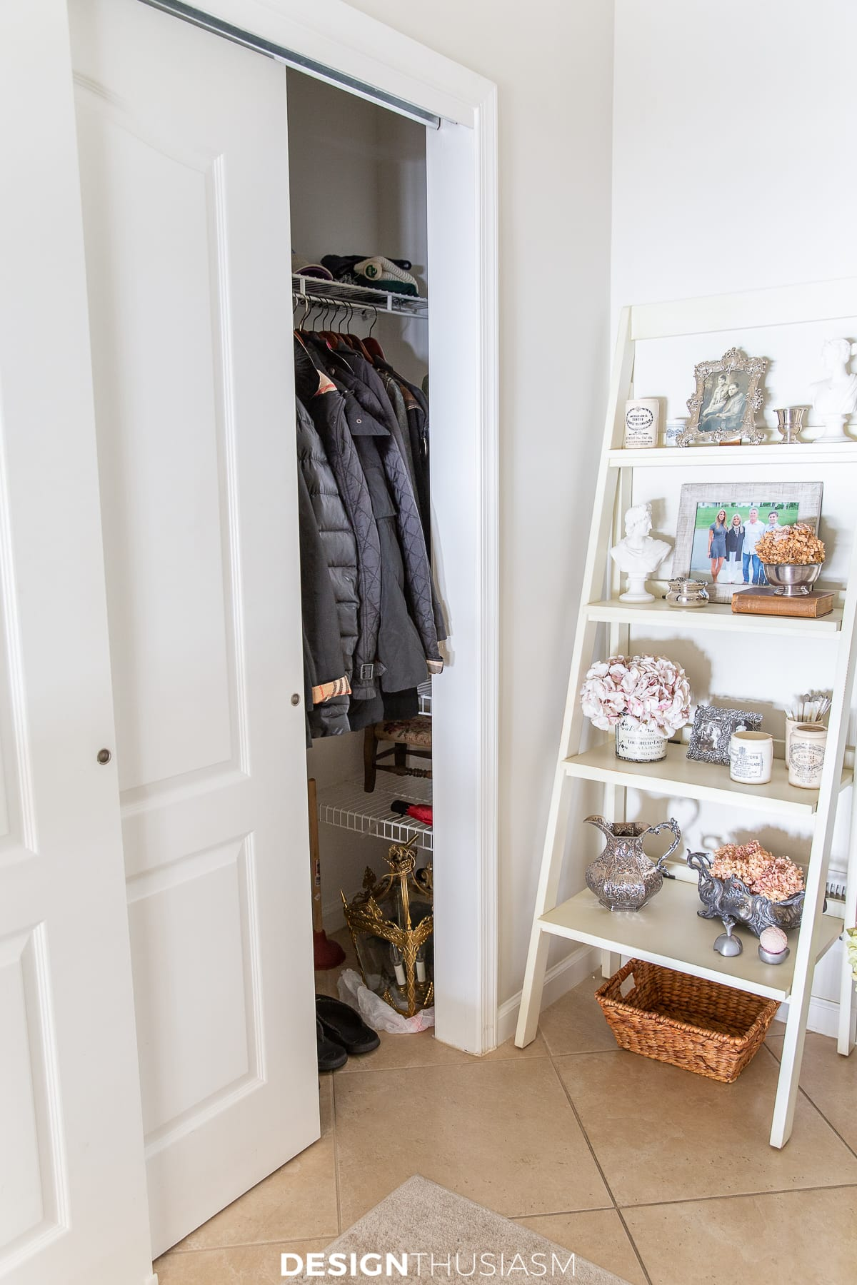 back entry coat closet