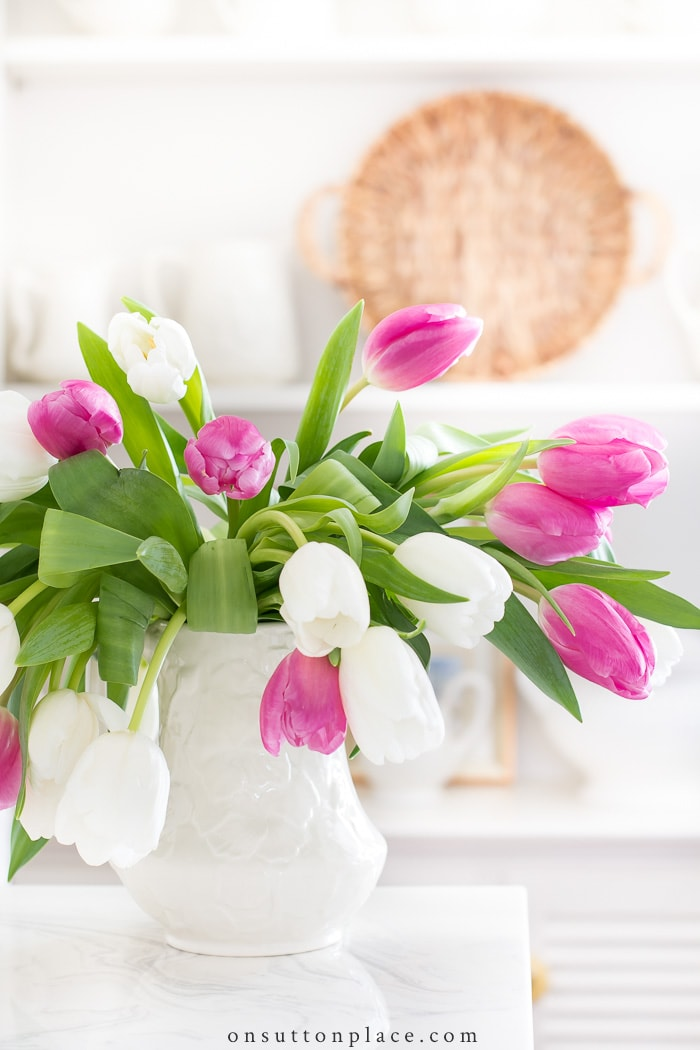How to Fix Drooping Tulips from On Sutton Place