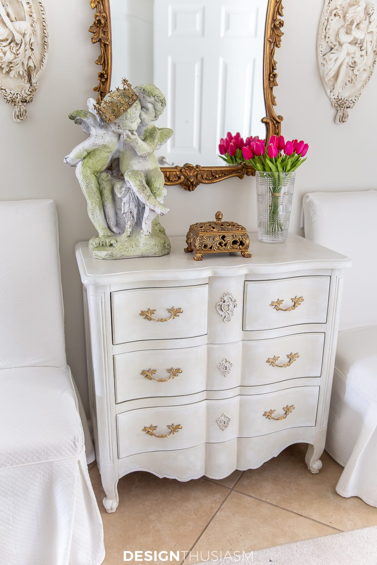 entry foyer chest of drawers