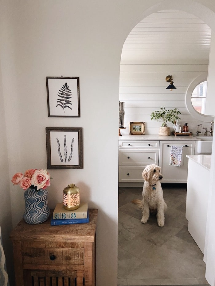six-simple-secrets-less-cluttered-home-shiplap-kitchen-archway-the-inspired-room