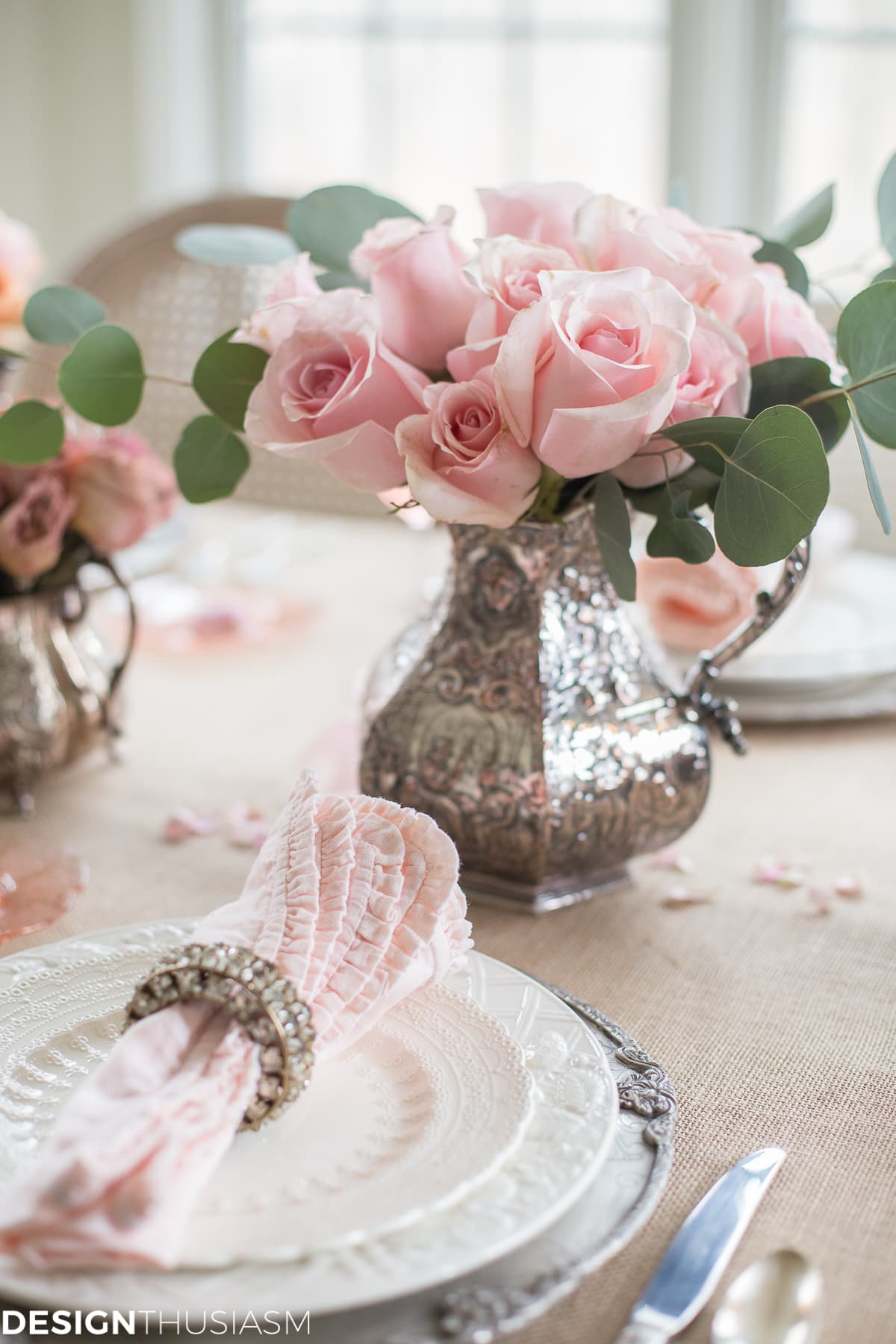 Rustic Romance Valentine's Table