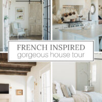beautiful french inspired house tour