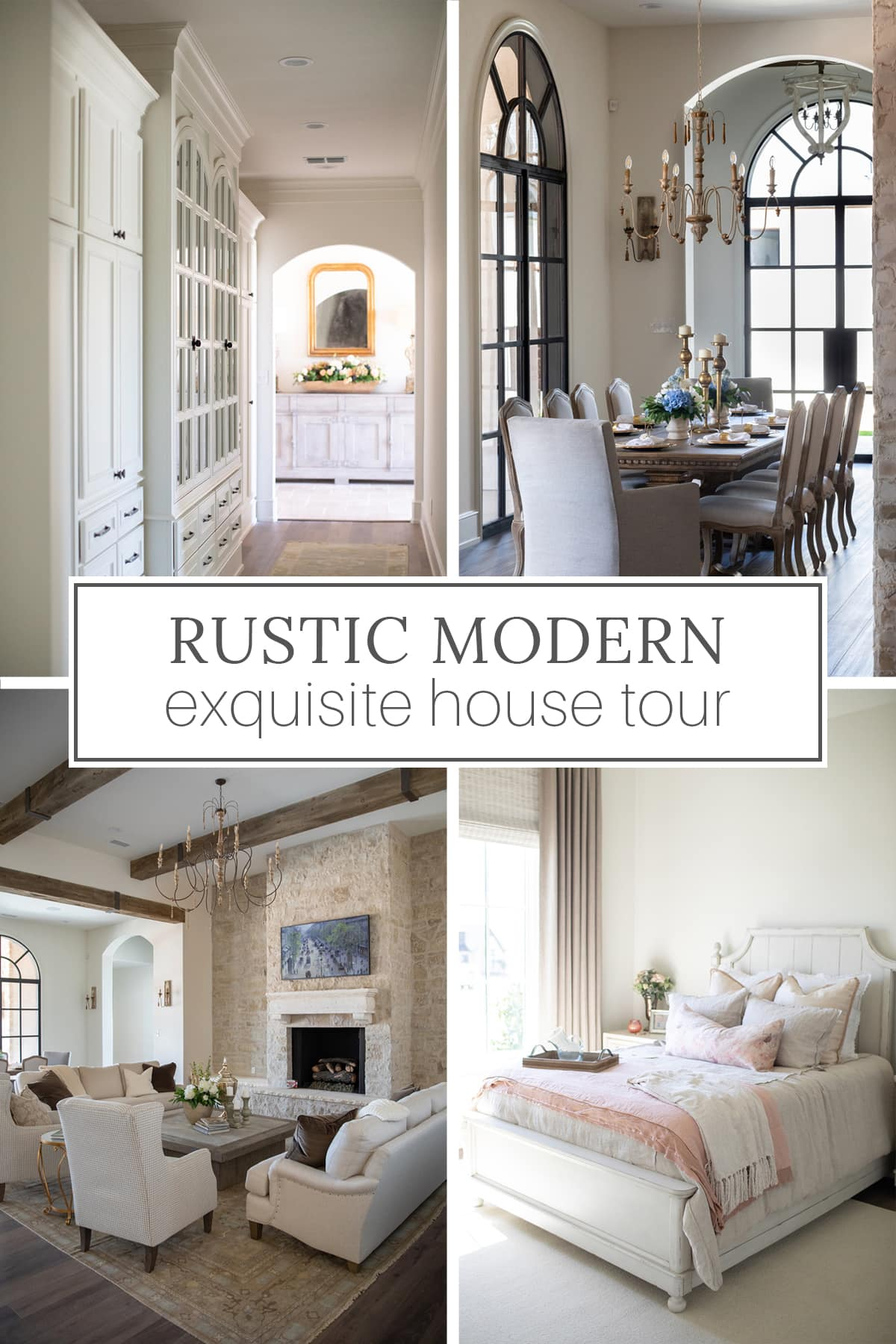 Exquisite rustic modern house tour