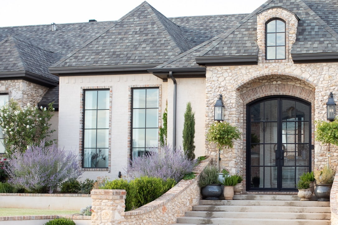 beautiful house tour exterior