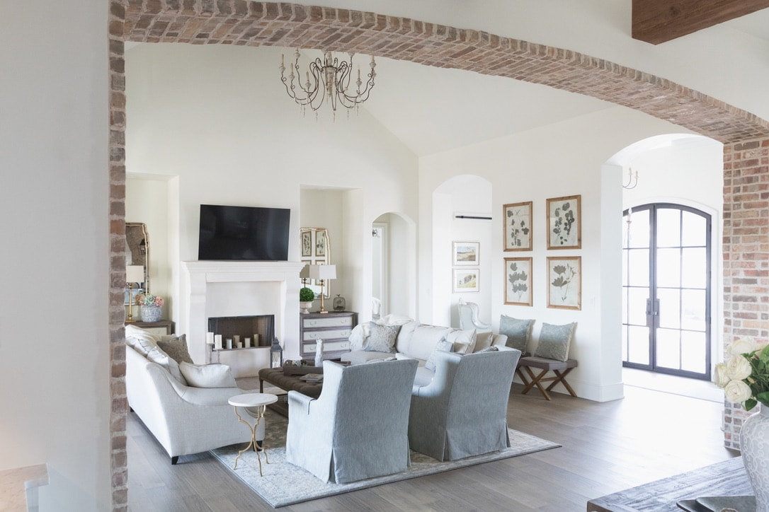 beautiful house tour living room