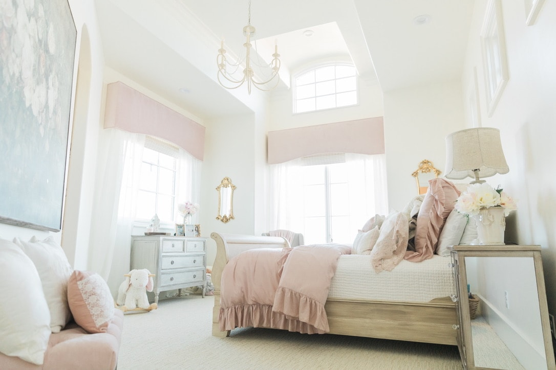 beautiful house tour girl's bedroom