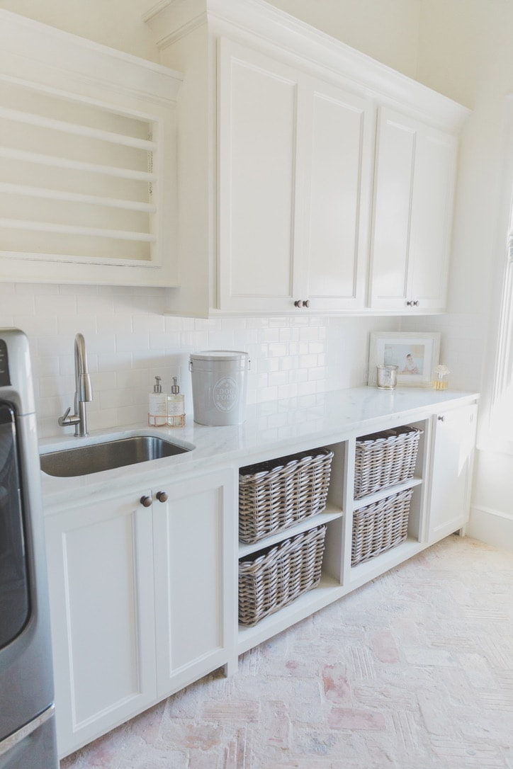 beautiful house tour laundry room