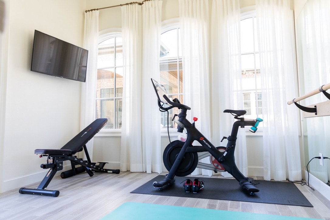 beautiful house tour gym