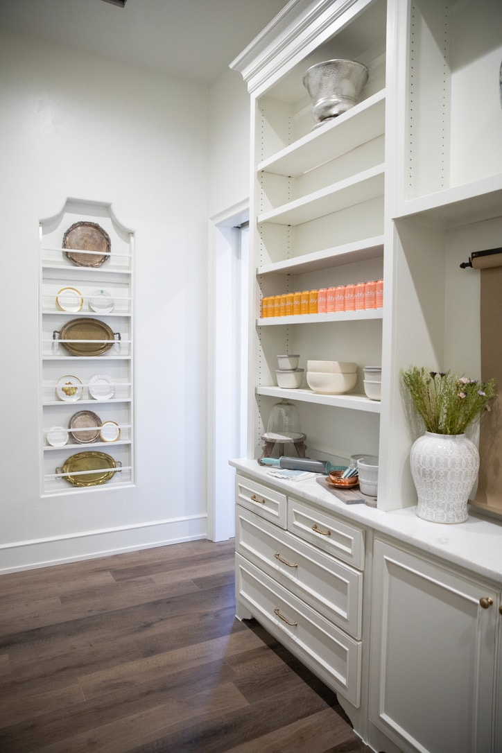 house tour butlers pantry