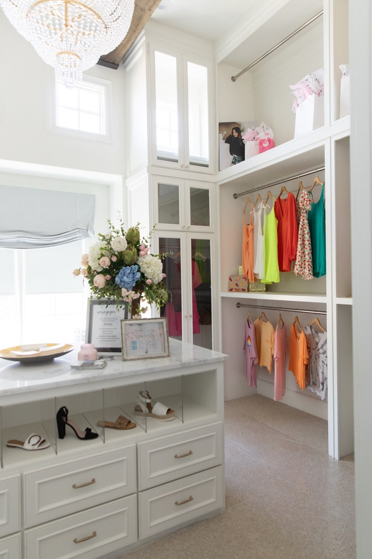 house tour bedroom closet