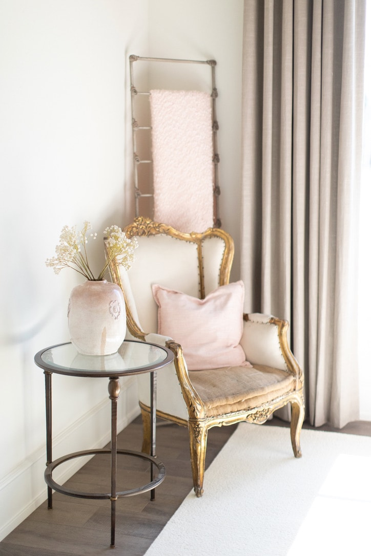 house tour bedroom chair