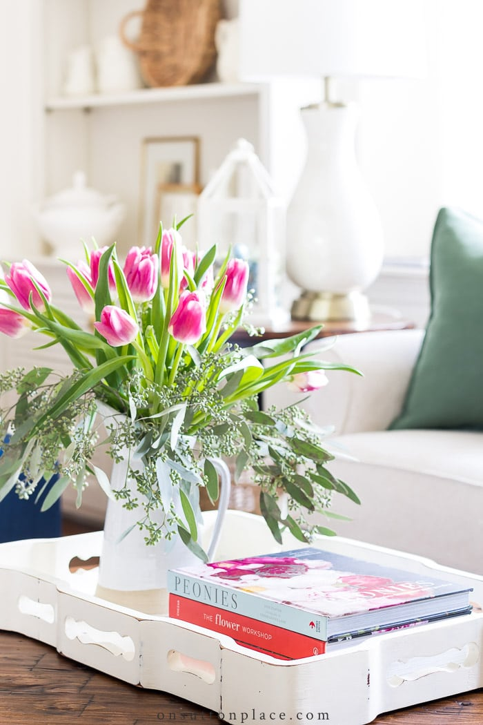 Spring Coffee Table Ideas from On Sutton Place