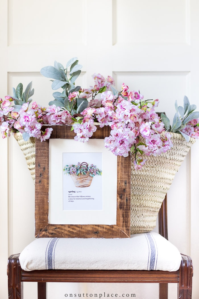 Spring Printable Wall Art from On Sutton Place