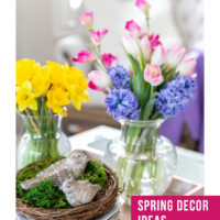 Spring decor ideas with 8 design elements