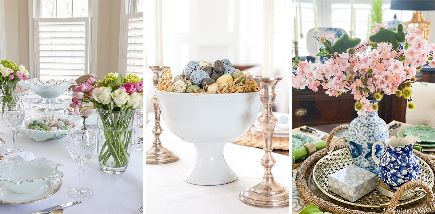 Easter tablescape hop