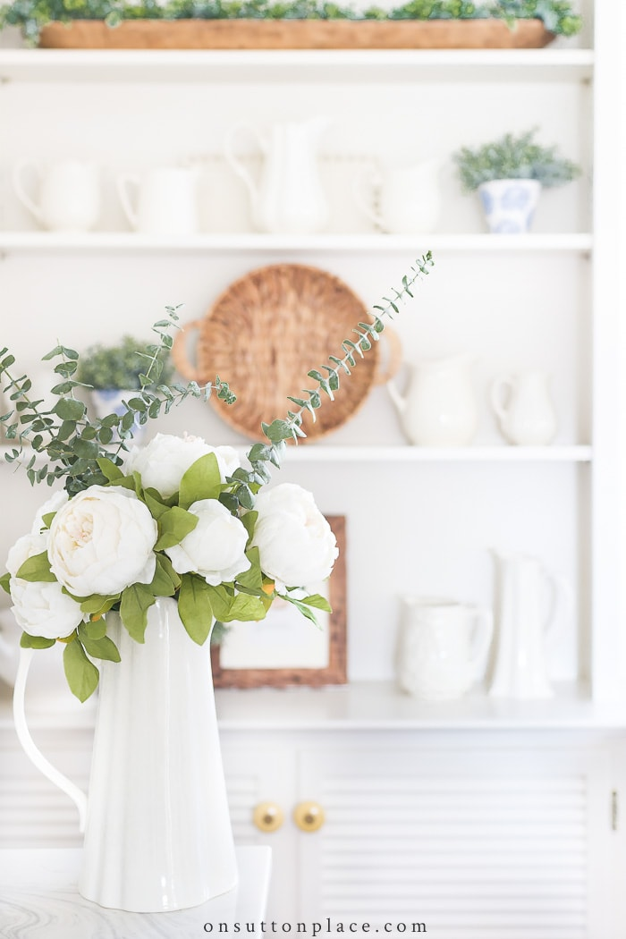 Favorite Faux Greenery from On Sutton Place