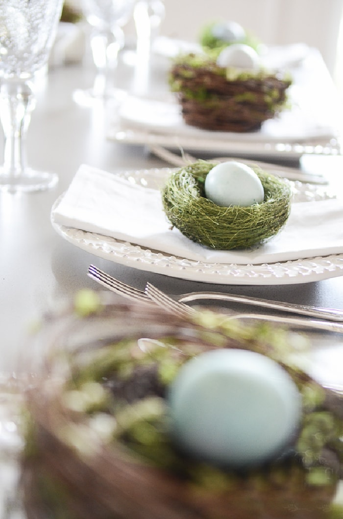 Easter Table Ideas- StoneGable