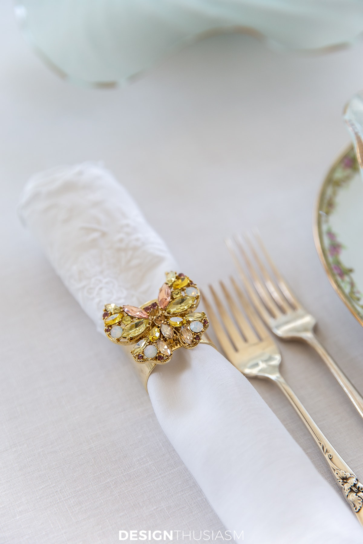 Easter table napkin rings