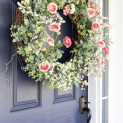 Spring Wreaths: Welcome Visitors with a Beautiful Spring Door Wreath