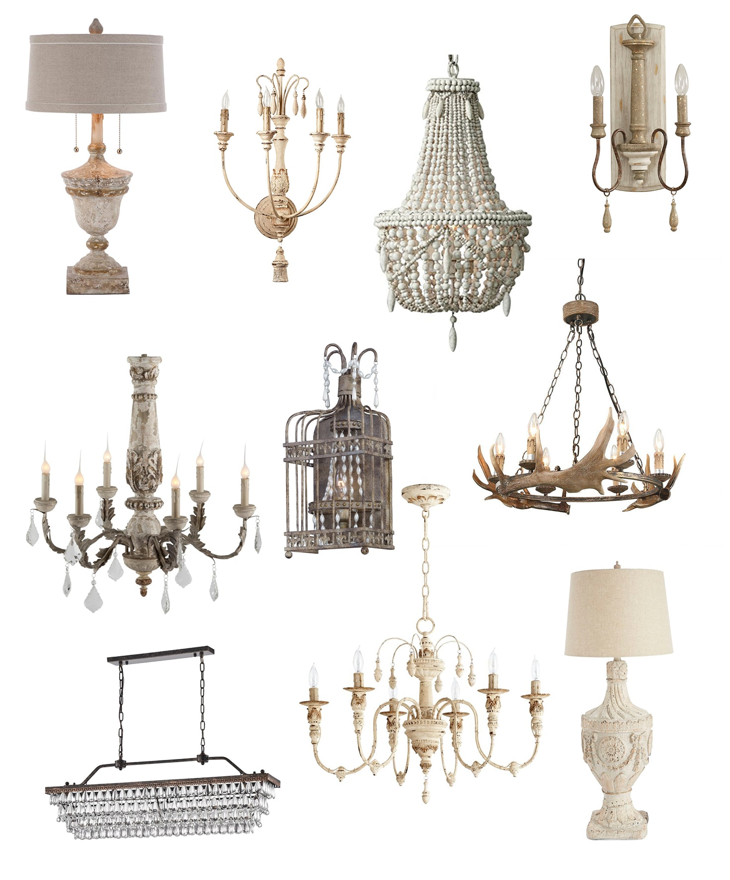 Where to Buy Affordable French Farmhouse Lighting