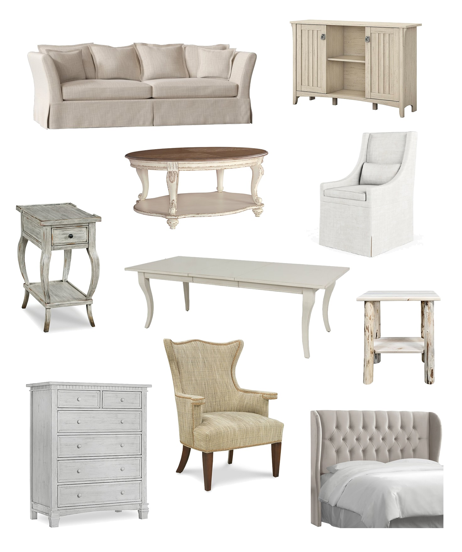 Made in USA Modern Farmhouse Furniture: Shopping Guide