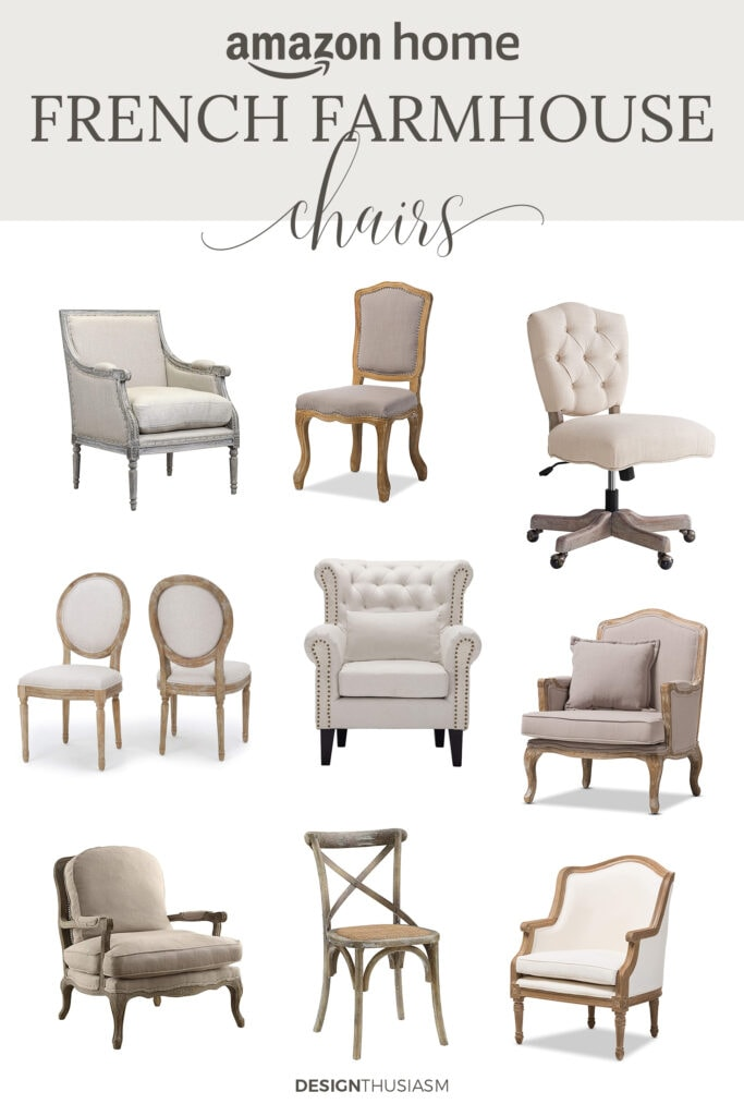 french farmhouse chairs