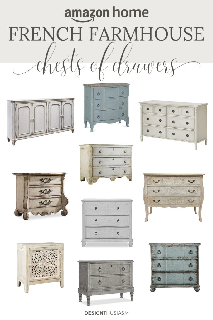 french farmhouse chests