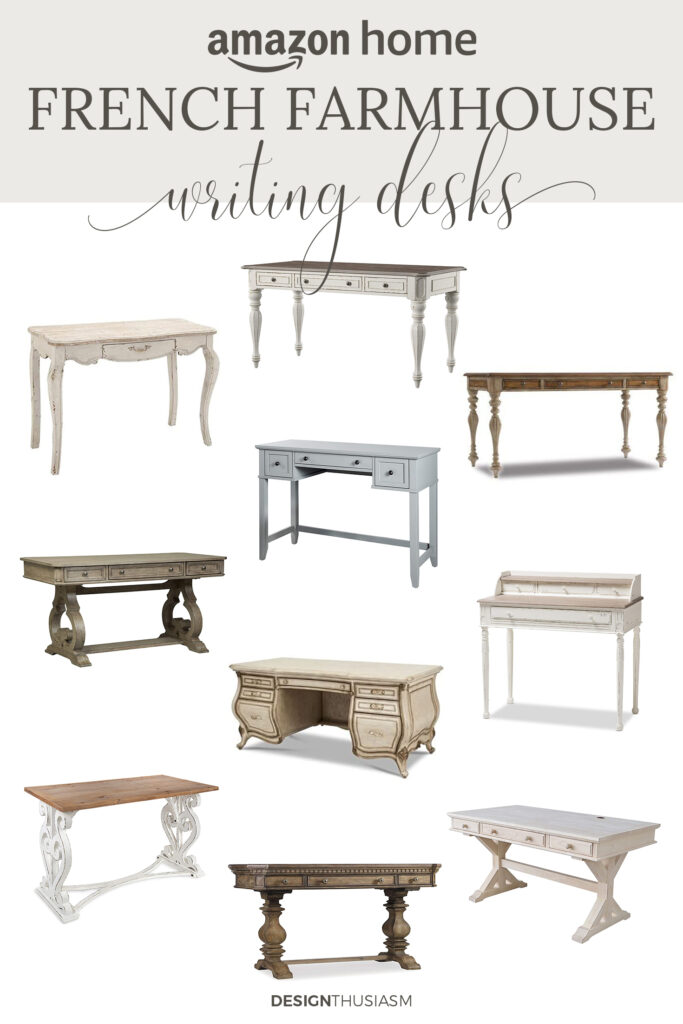 french farmhouse desks