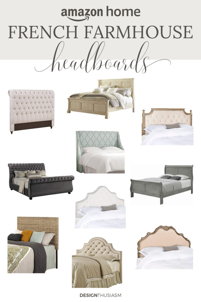 french farmhouse headboards