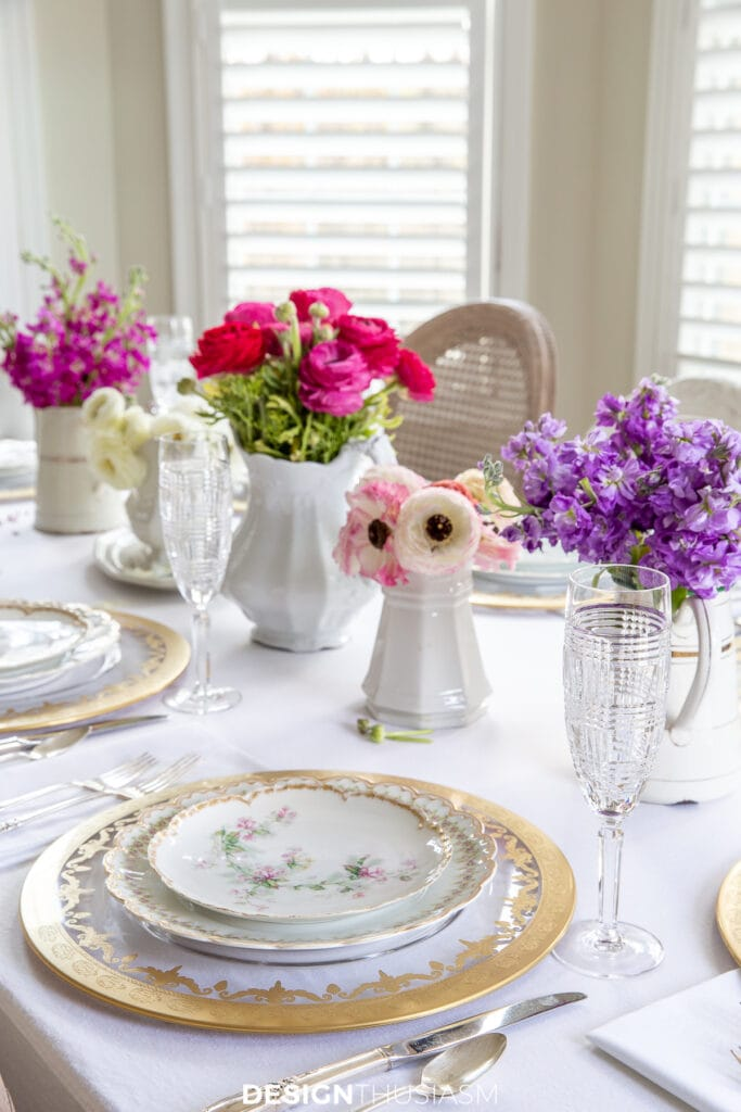 Mother's Day celebration flowers