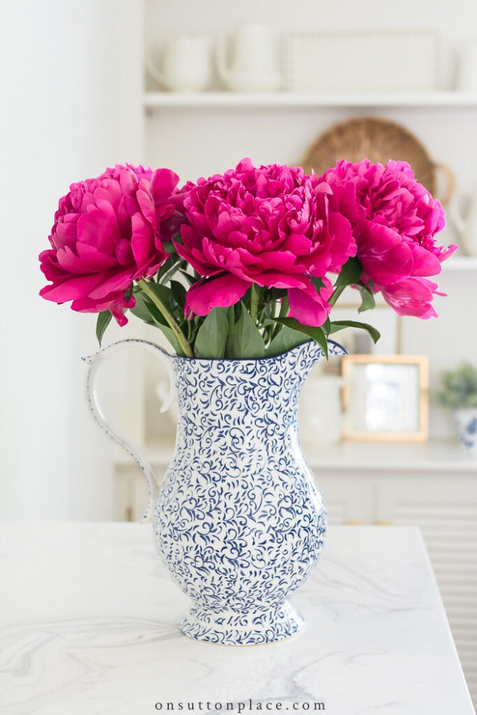 Perfect Peony Arrangement Ideas from On Sutton Place